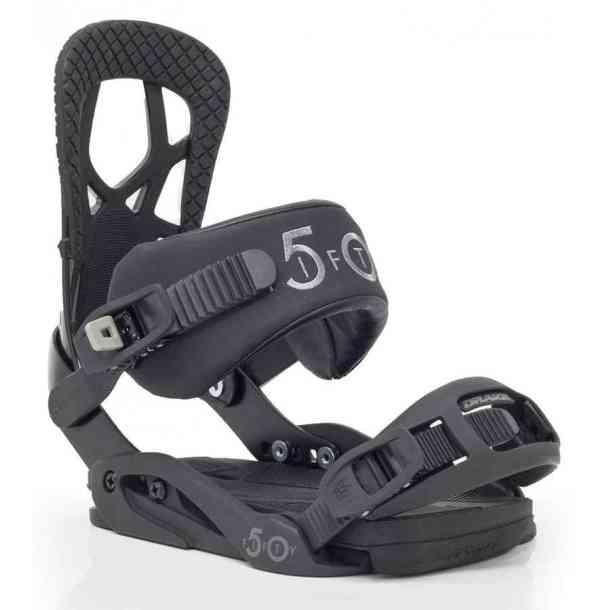 Wiązania Snowboardowa Drake Fifty Black