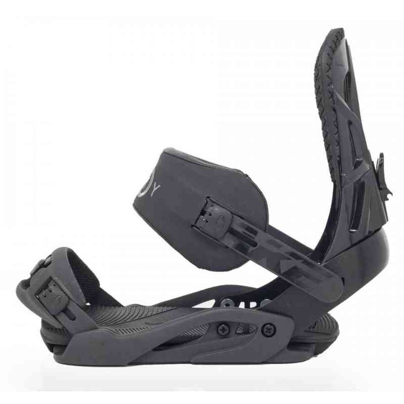 Drake Fifty Snowboard Bindings: Drake Fifty Black Snowboard Bindings