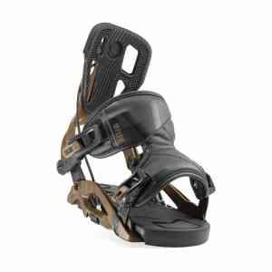 Flow Fuse Hybrid Brown Snowboard binding