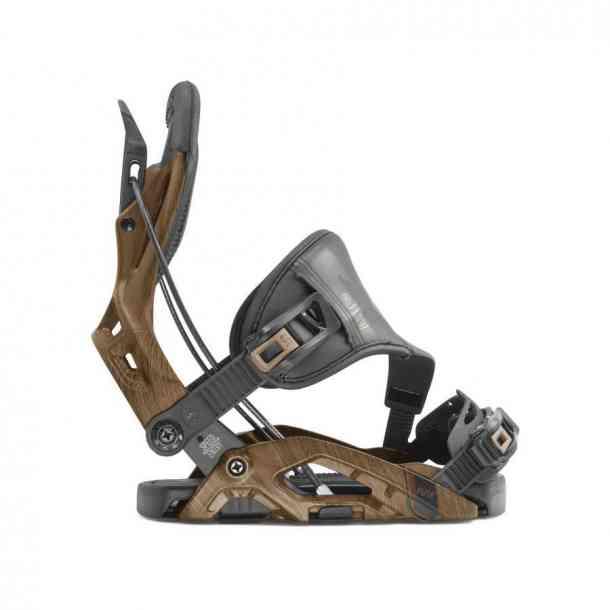 Wiązania Snowboardowa Flow Fuse Hybrid Brown