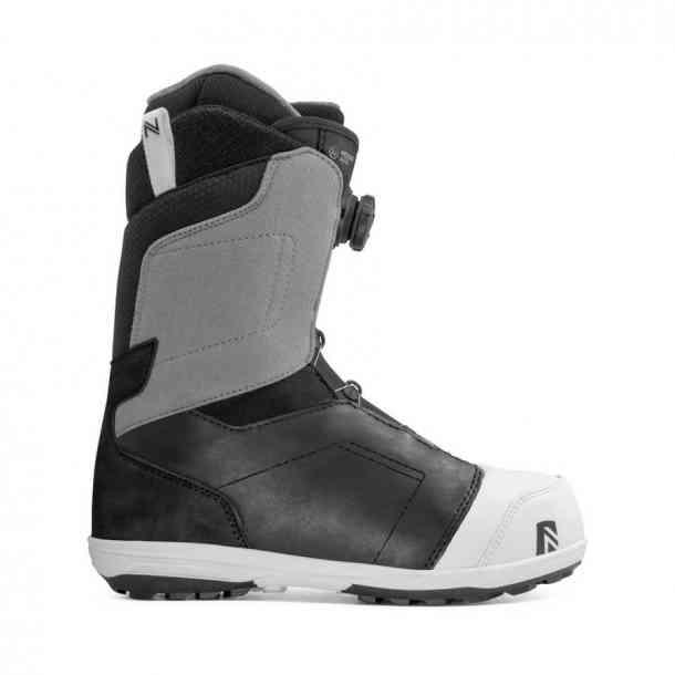 Nidecker Aero Boa Coiler Black snowboard boots