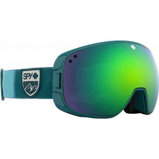 Gogle Spy Bravo Essential White - Happy Gray Green w/Red Spectra + Happy Yellow w/Lucid Green