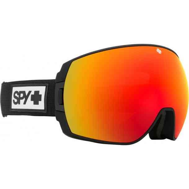 Gogle Spy Legacy Matte Black - Bronze  w/Red Spectra Mirror + LL Yellow w/ Green Sprectra (dodatkowa szybka)