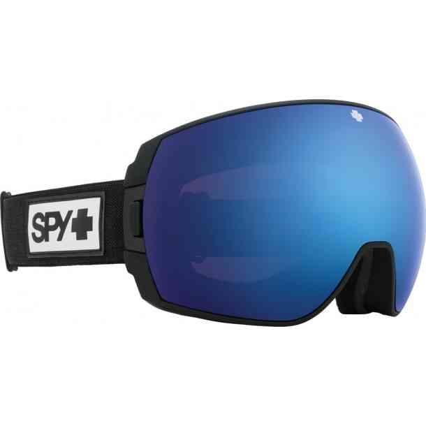 Gogle Spy Legacy Matte Black - Rose w/ Dark Blue Spectra Mirror + HD Plus LL Light Gray Green w/ Red Sprectra (dodatkowa szybka)