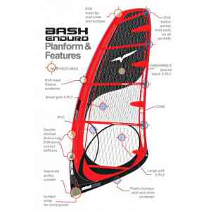 Żagiel windsurfingowy Windwing Bash Enduro