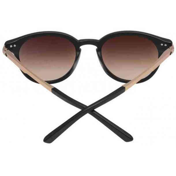 Okulary przeciwsłoneczne Spy Pismo Matte Black Rose Gold Happy Bronze Fade