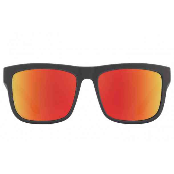 Okulary przeciwsłoneczne Spy Discord Soft Matte Dark Gray HD+ Polarized w/Red Spectra