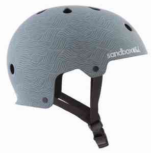 Sandbox Legend Low Rider Burgundy helmet