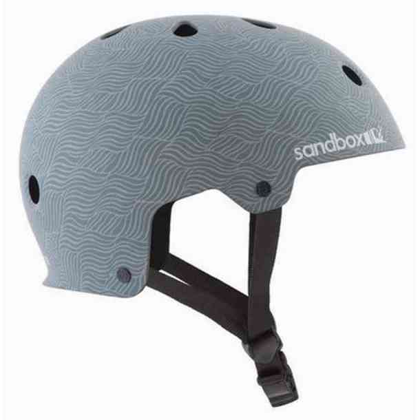 Sandbox Legend Low Rider Burgundy helmet
