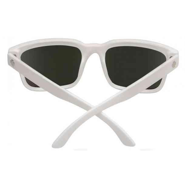 Okulary Przeciwsłoneczne Spy Helm 2 Matte White - Happy Gray Green w/Silver Spectra