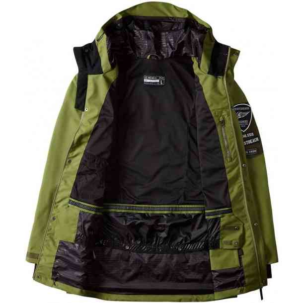 Kurtka Snowboardowe Westbeach Daredevil Combat Green