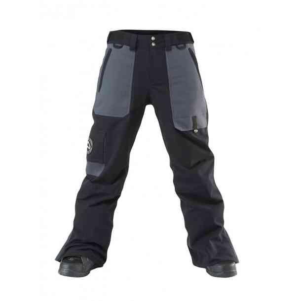 Męskie Spodnie Snowboardowe Westbeach Kamikaze Black