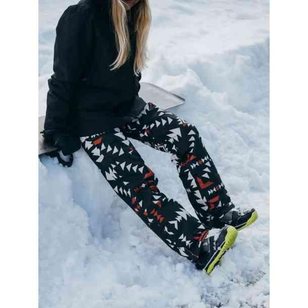 Spodnie snowboardowa Westbeach Sherwood Paprika Jumbo Aztek