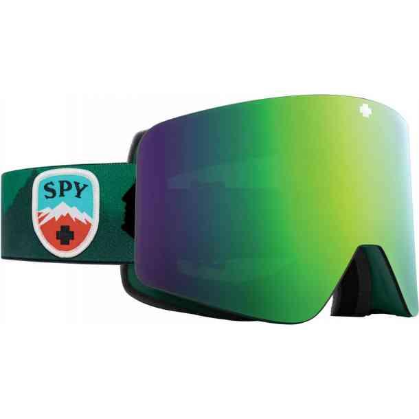 Gogle Spy Marauder Trailblazer Green - happy bronze green spc/happy pers silver spc