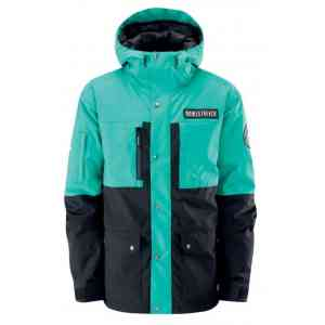 Męska kurtka snowboardowe Westbeach Adventure Stretch (dark teal)