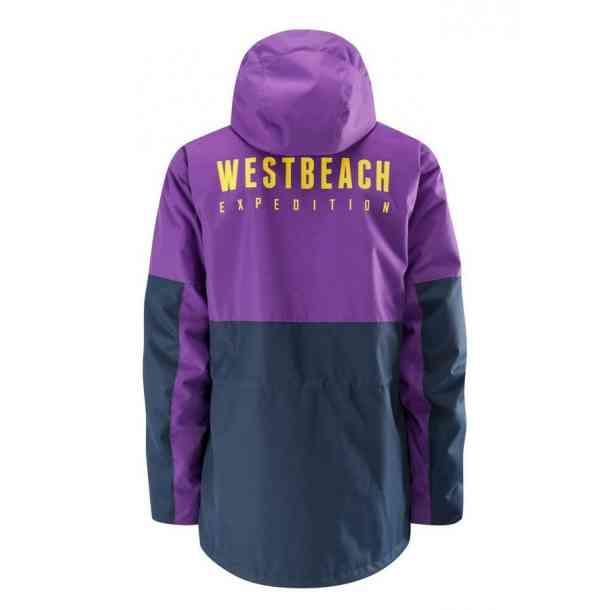 Kurtka snowboardowe Westbeach Expedition (navy purple)