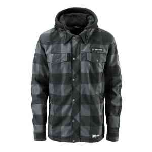 Softshell snowboardowy Westbeach Menace (grey black)