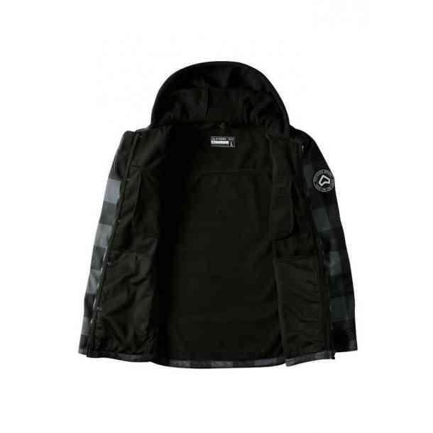 Softshell snowboardowy Westbeach Menace (grey black)
