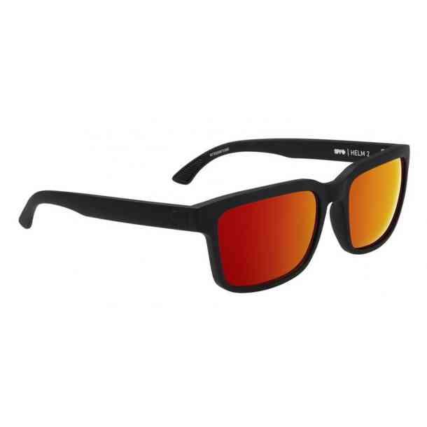 Okulary przeciwsłoneczne Spy Helm 2 (soft matte black/happy green red)