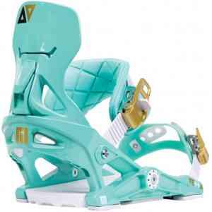 Wiązania Snowboardowe NOW Vetta aqua/gold