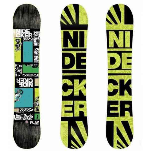 Zestaw snowboardowa Nidecker Play