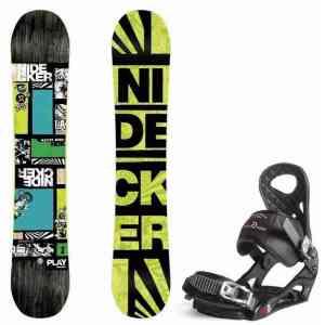 Nidecker Play snowboard set