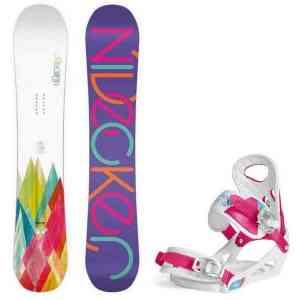 Zestaw snowboardowa Nidecker Elle