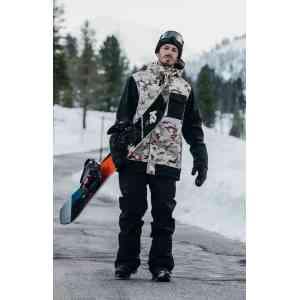 Spodnie snowboardowe Westbeach Nelson Black
