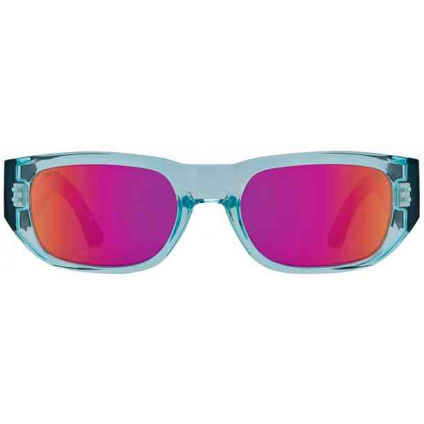 Okulary przeciwsłoneczne Spy Genre (trans aqua mat black/happy gray purple spectra)