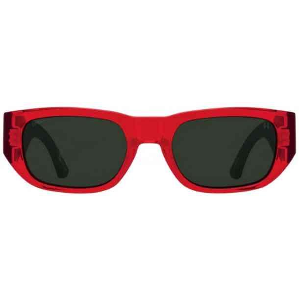 Okulary przeciwsłoneczne Spy Genre (trans red mat black/happy gray green)