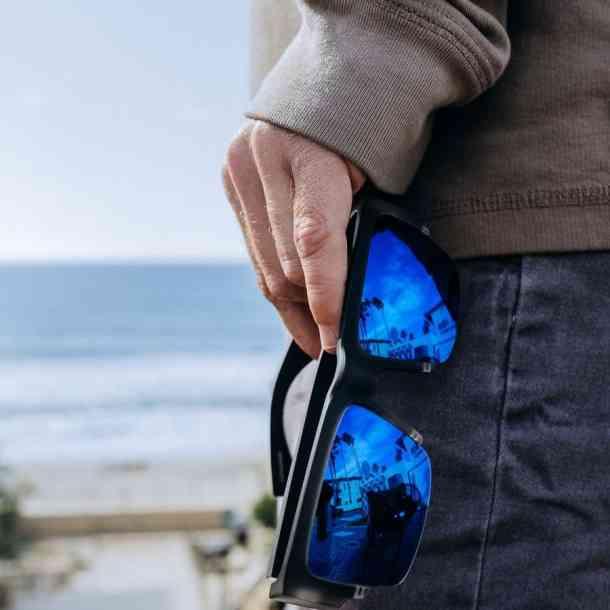 Okulary Przeciwsłoneczne Spy Cyrus 5050 Soft Matte Black - Happy Gray Green Polarized