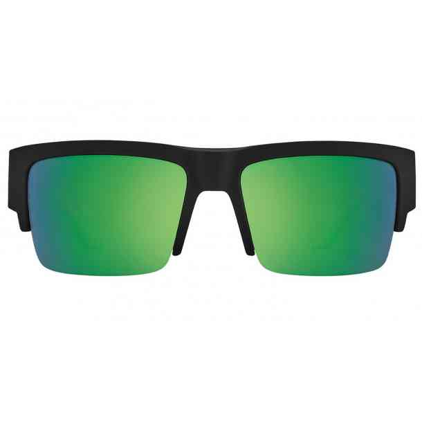 Okulary przeciwsłoneczne Spy Cyrus 5050 (soft mt black trans green/happy green spectra)