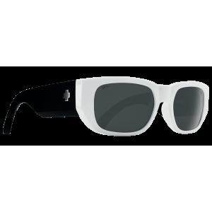 Spy Genre sunglasses (white happy gray/white mirror)