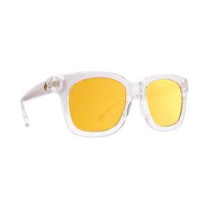 Spy Shandy sunglasses (crystal gray/gold mirror)