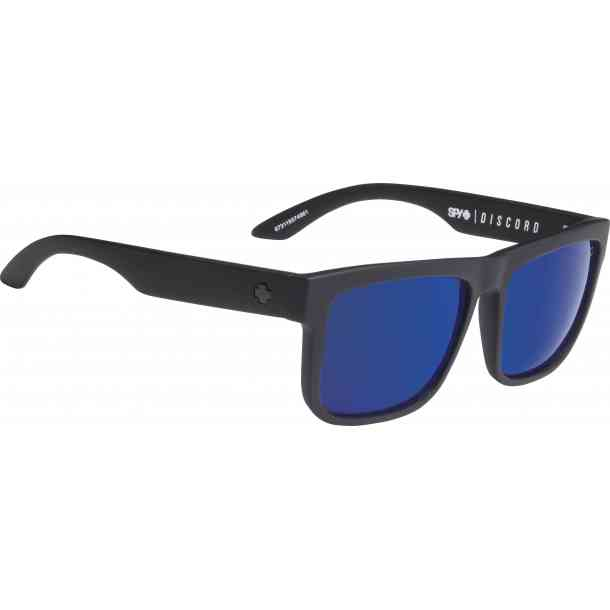 Okulary przeciwsłoneczne Spy Discord z polaryzacją (black/blue spectra)