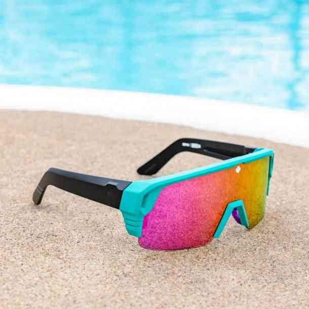 Okulary przeciwsłoneczne Spy Monolith 50/50 (mat teal/gray green pink)
