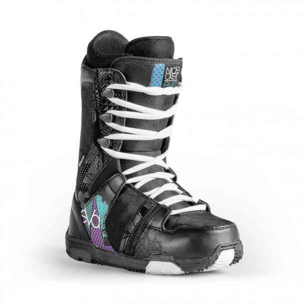 Buty Snowboardowe Nidecker Eva Lace Black/Blue