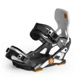 Wiązania Snowboardowe Now  Select Black/White