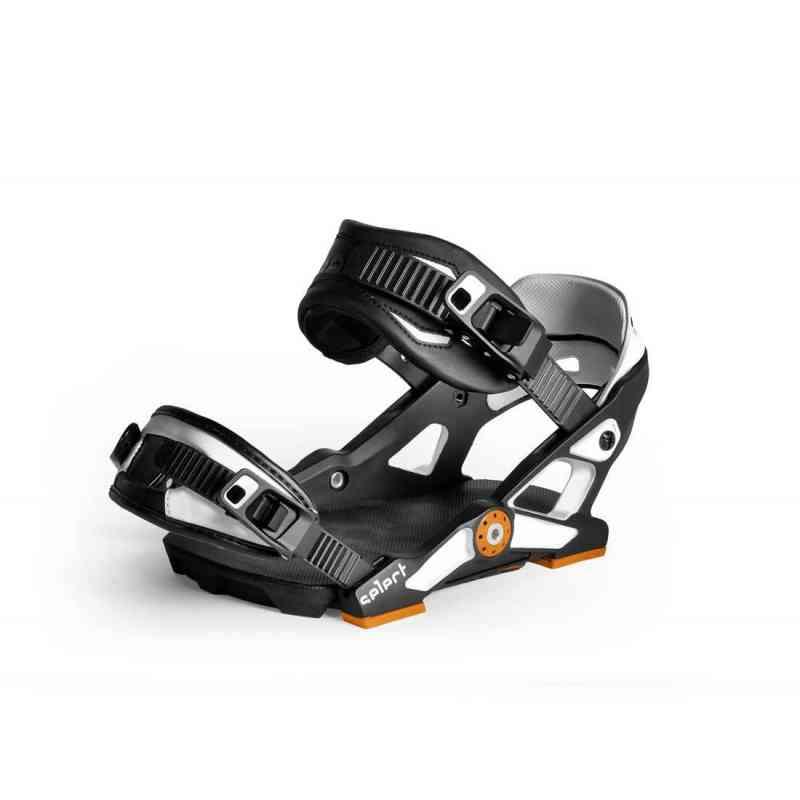 Snowboard Bindings NOW Select Black/White L