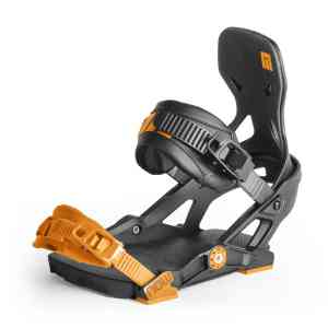 Wiązania Snowboardowe Now  Ipo Black/Orange