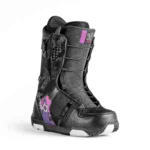 Buty Snowboardowe Nidecker Eva Speed Lace Black