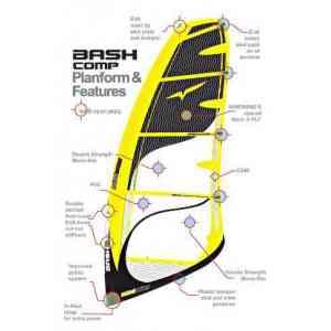 Windwing Bash Comp windsurfing sail