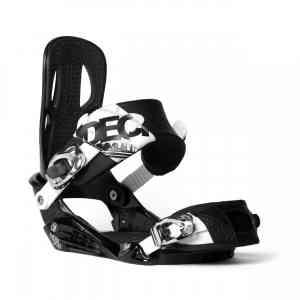 Wiązanie Snowboardowe Nidecker Fuse Black/White