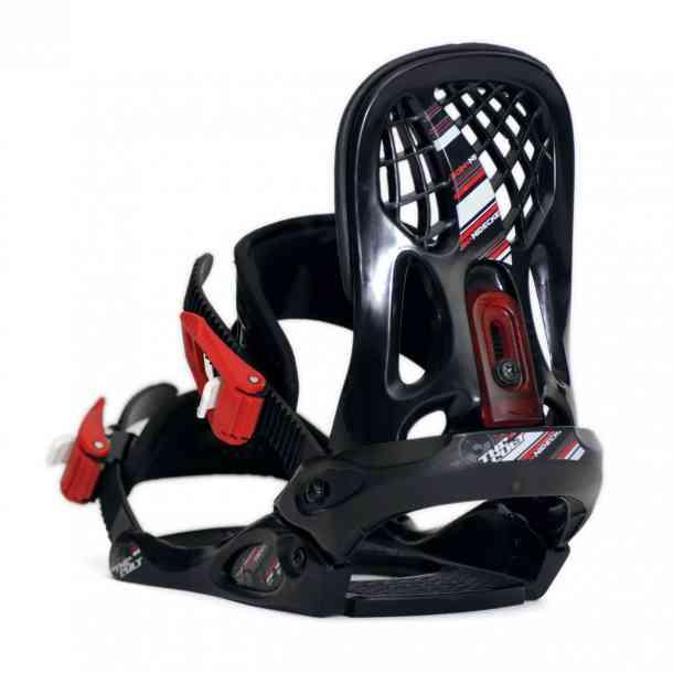 Wiązania snowboardowe Nidecker Cult Bl/Red