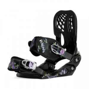 Wiązania Snowboardowe Nidecker Angel Bl/Purple