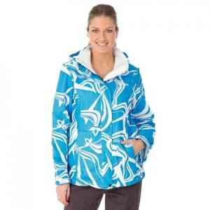 Women's Oxbow Reina Blue Snowboard Jacket