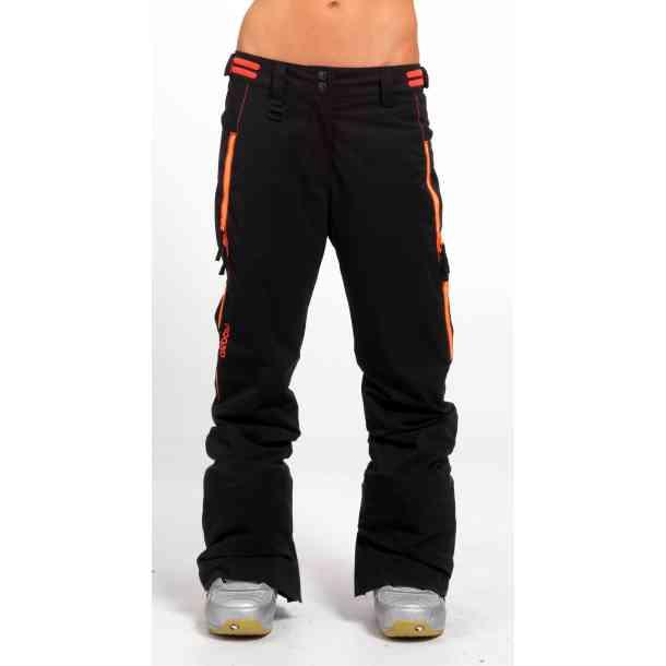 Damskie Spodnie Snowboardowe Oxbow Razann Black