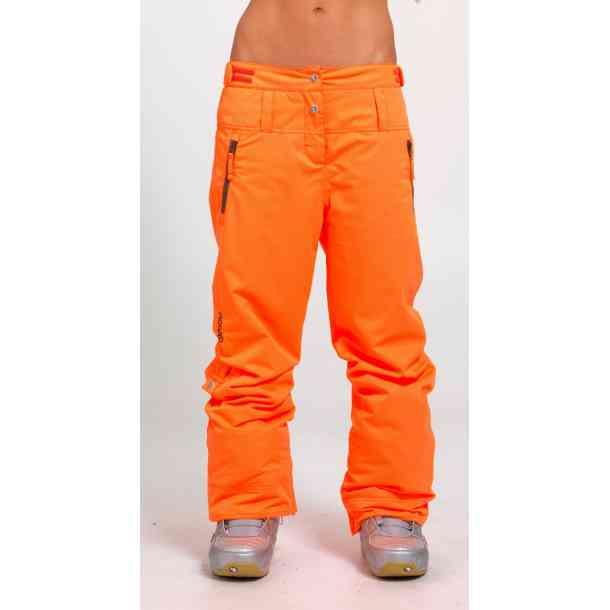 Damskie Spodnie Snowboardowe Oxbow Redha Orange