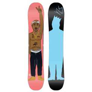 Yes  Trouble Tupac Snowboard