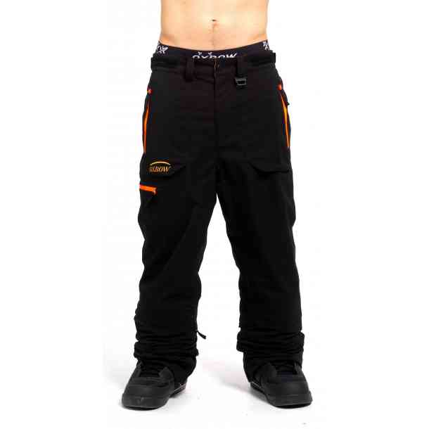 Męskie Spodnie Snowboardowe Oxbow Raynor Black